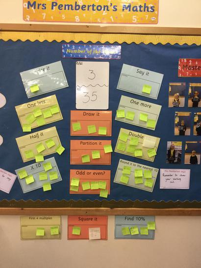 Bay's Maths Wall