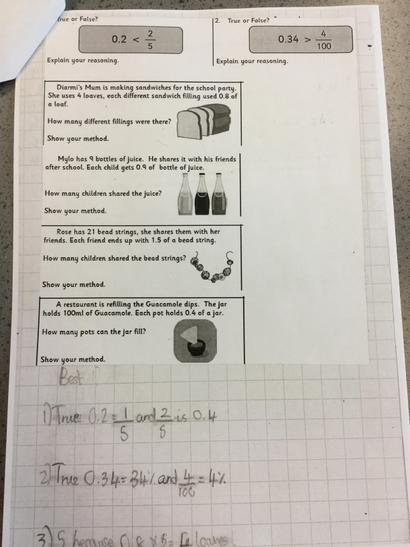 Emerald class have been solving problems