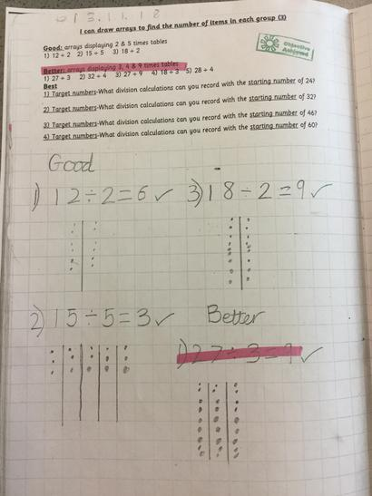 Lilac class have been using arrays