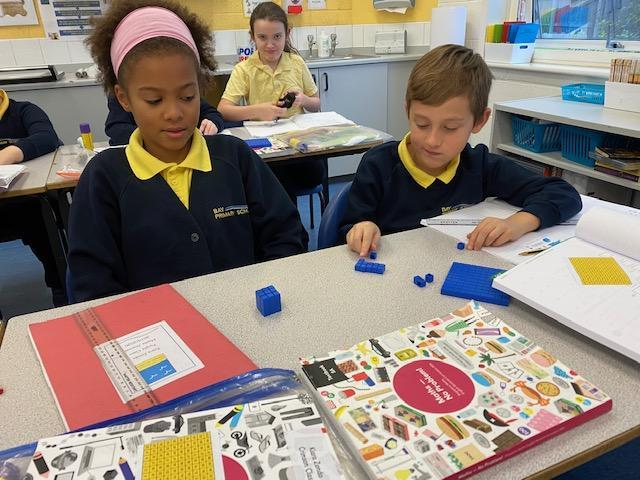 Year 5 investigating square numbers