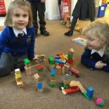 Creating London in blocks - The Naughty Bus