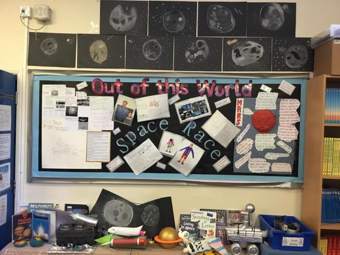 Our first POW Project Homework - The Space Race