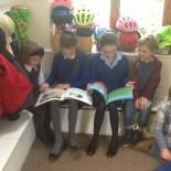 When the Y5 children helped us with our reading