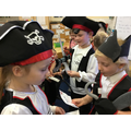 We learnt some pirate words