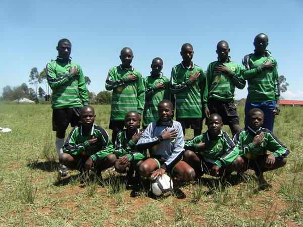 The school football team