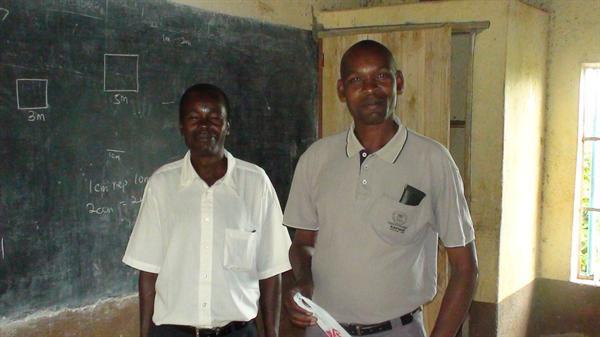 The Headteacher and his assistant