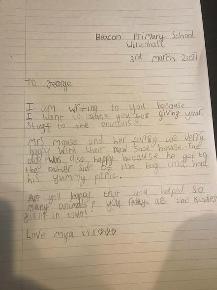 Mya's Letter 03.03
