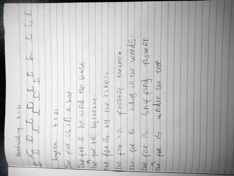 Phoebe's English Work