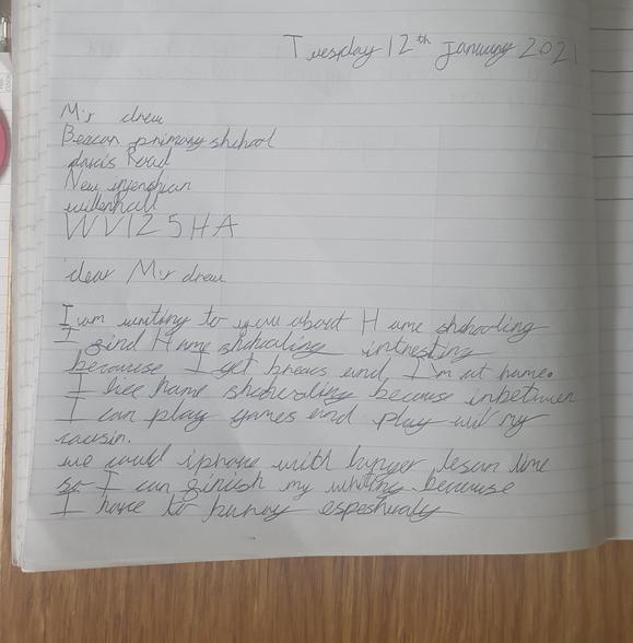 Ollie's letter 12.01.21