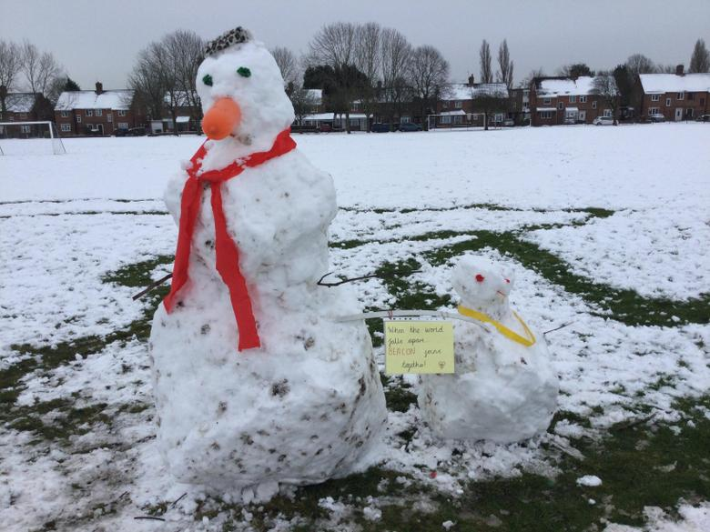 Our Year 1 Snowman! 26.01