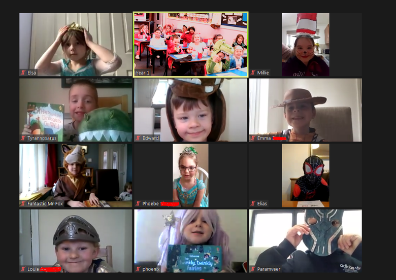 World Book Day Zoom Lesson!