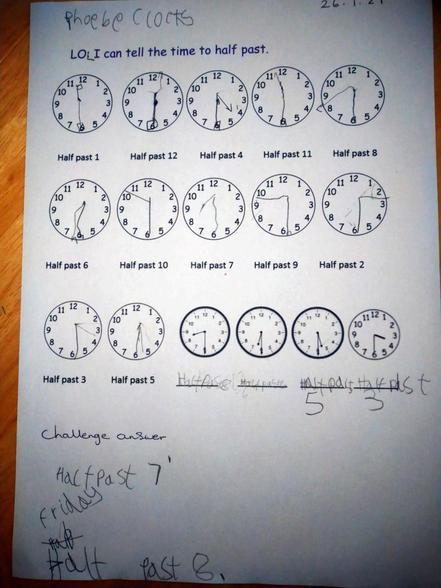 Phoebe's Maths 26.01