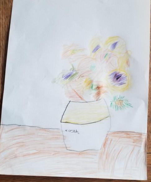Noah's Van Gogh Art 08.02