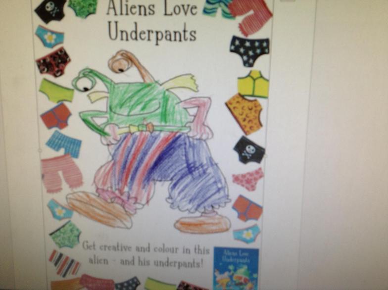 Joe's Alien's Love Underpants 02.03