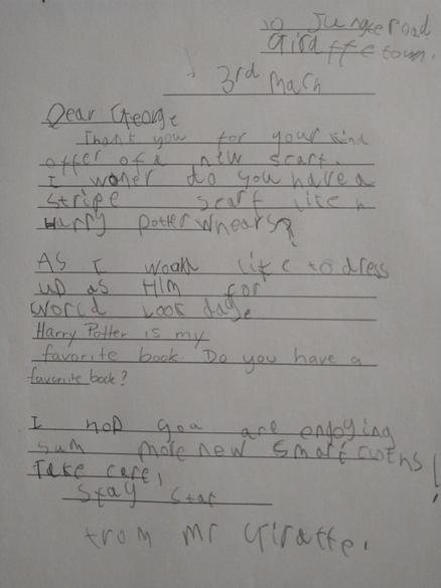 Phoebe's Letter 03.03