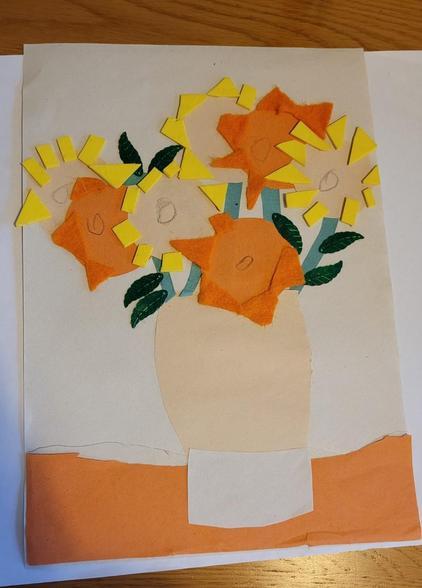 Louie's Van Gogh Art 08.02
