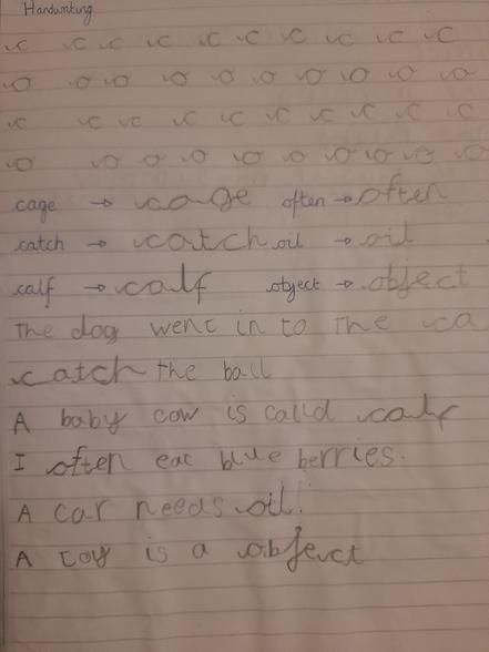 Elias's Handwriting 12.01