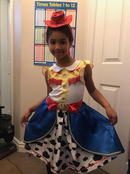 Mya - Jessie from Toy Story