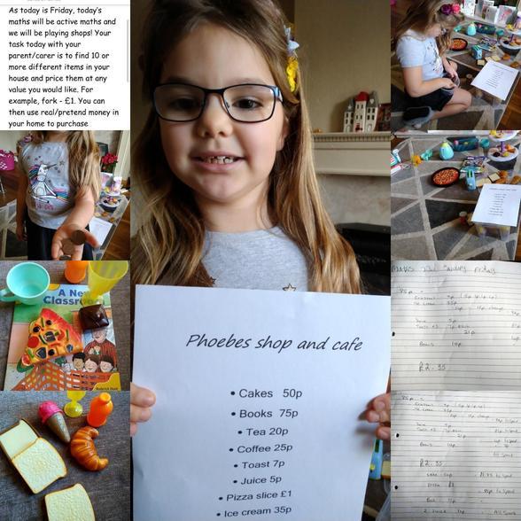 Phoebe's Active Maths Shop 22.01