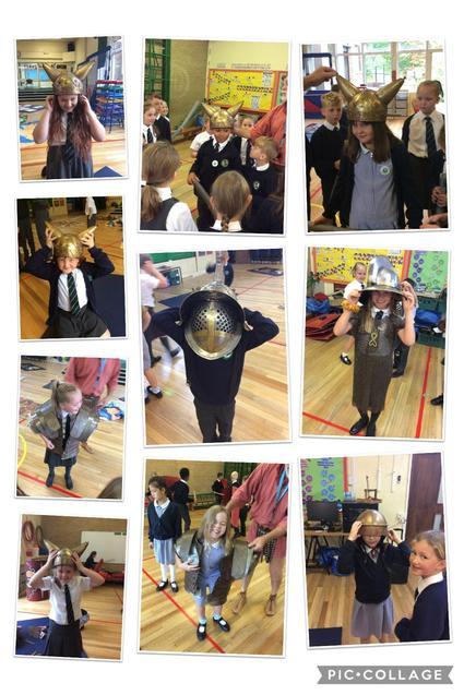 We tried on lots of Roman armour!