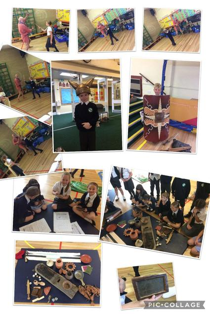 We discovered what life in a Roman house was like and took part in slow motion battles!