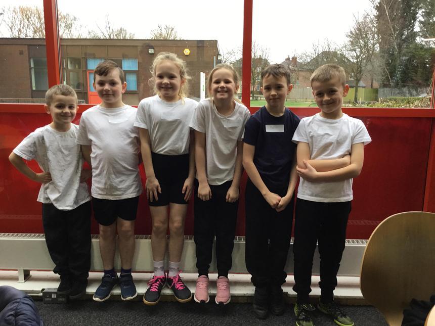 Children enjoyed squash at Leisure Centre