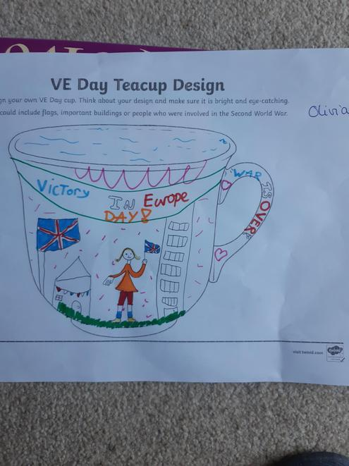 Good understanding of the VE Day message Olivia!