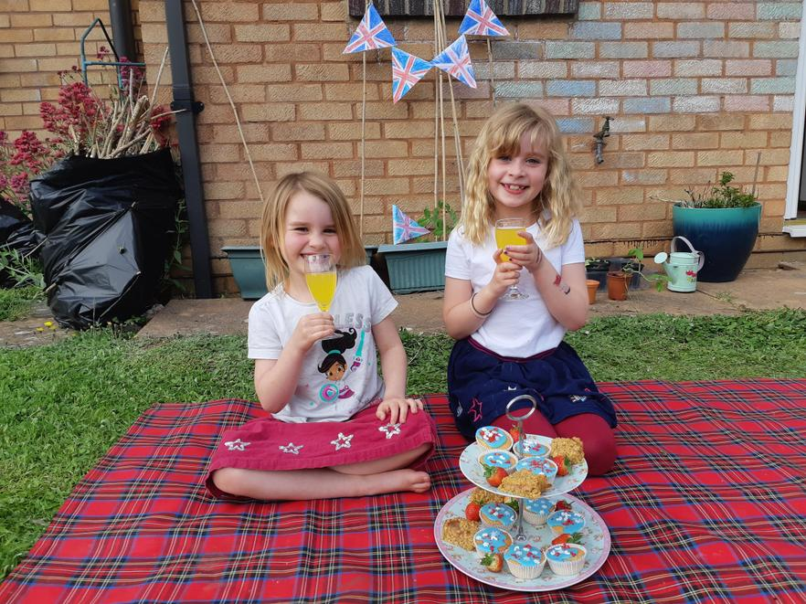 VE Day Afternoon Tea. Your cakes look delicious!