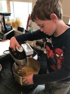 Good concentration and careful mixing!