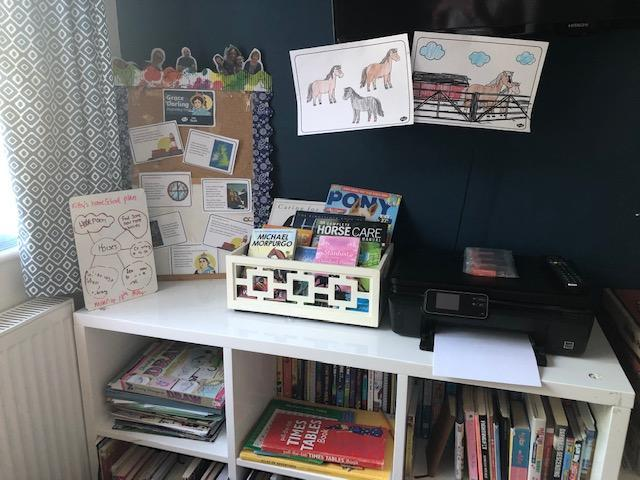 What a great idea, creating your own library!