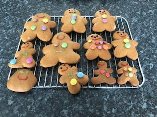 I love your decorated biscuits with smiley faces!