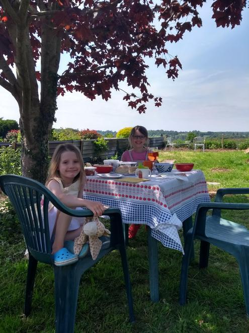 Afternoon Tea in the garden to celebrate VE Day!
