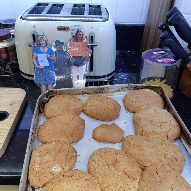 Your ginger biscuits look delicious Florence!