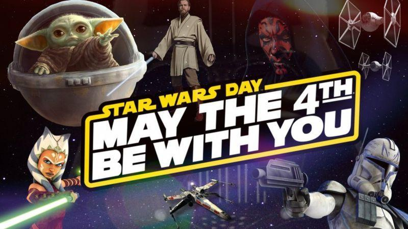 Great title, 'May the 4th be with you!'