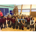 Millie loved meeting all of the children.