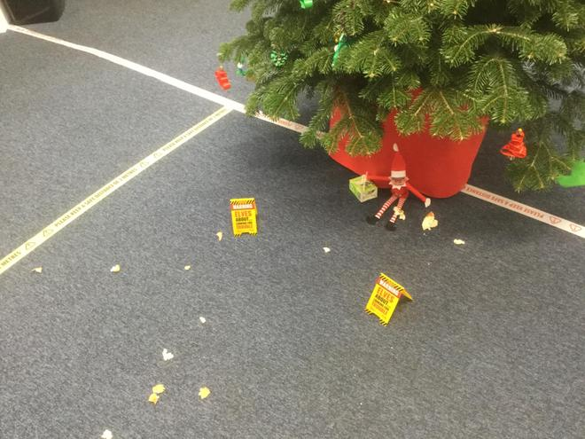 1/12/2020-Oh dear! Did you see this mess at school?