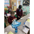 Then we used the best materials to make baby nappies.
