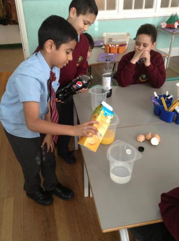 Orange Juice and water