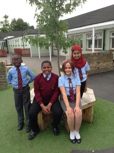 KS2 Pupils in Uniform