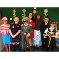 Some of Y5's amazing costumes.