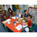 Afternoon tea with Reception