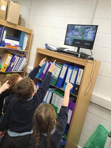 We even watched the school CCTV.