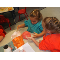 Making our class playdough