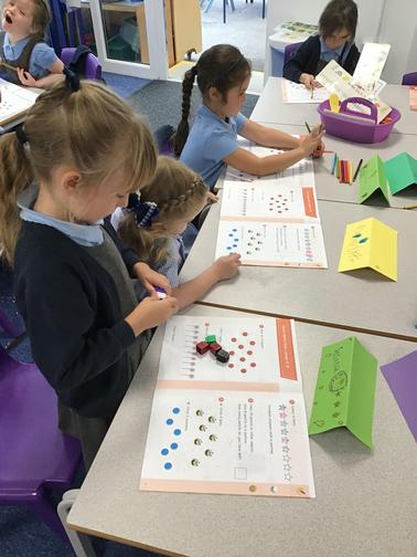 Counting a number of objects in a group of 10