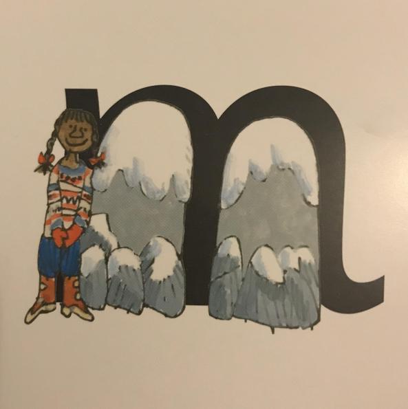 """""""Down Maisie, mountain, mountain."""""""