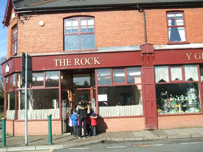 Visiting The Rock cafe