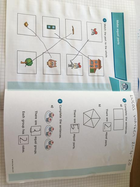 L's fractions work