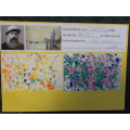 We explored different tequniques to help us create a similar affect to Claude Monet