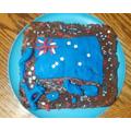Austrailia cake by Toby