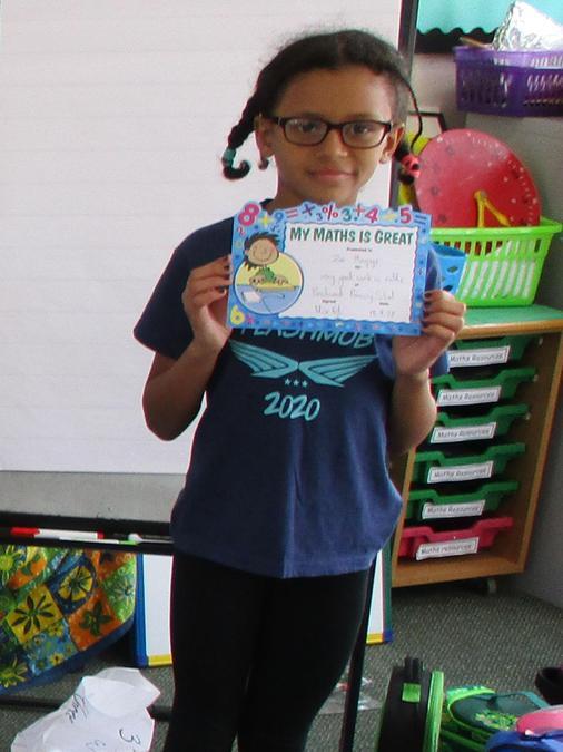 Maths Award Winner